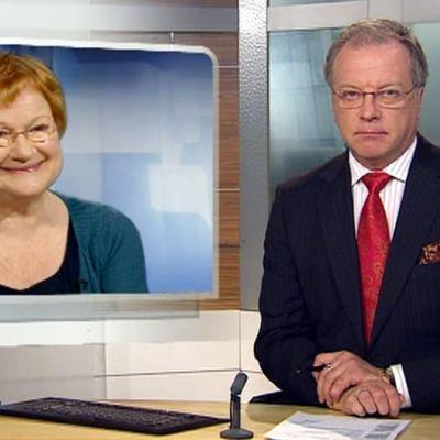Tarja Halosen presidenttikatta käydään läpi Uutissa.