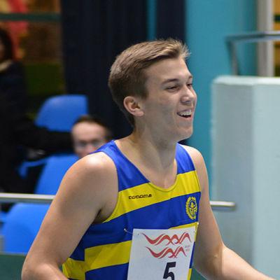 Filiph Johansson satsar på långsprint. 2014