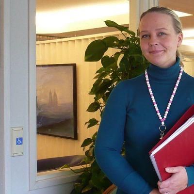Koivikko-kodin johtaja Riikka Koivisto.