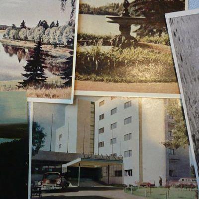Aulanko-aiheisia postikortteja