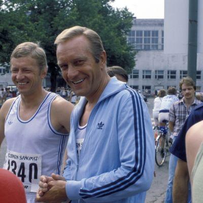 Harri Holkeri vuoden 1982 Helsinki City Marathonissa