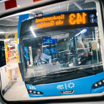 bussiliikenne, Espoo, 23.01.2018