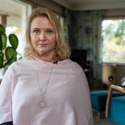 Maria Lindqvist insjuknade i covid-19 i mars 2020, frisk anser sig ha blivit sex månader senare.