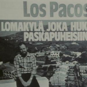 Lehtijuttu Los pacosin lomakylästä.