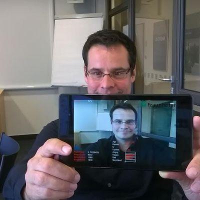 Forskningsinstitutet i Tyskland hoppas mycket av sin app.