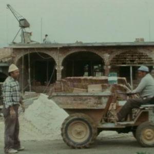 Rakennustyömaa Los pacosin lomakylässä.