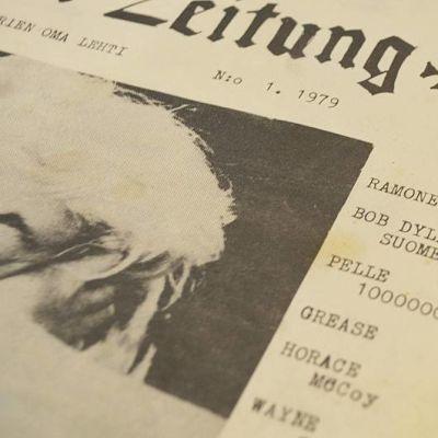 Tilt Zeitungin kansi vuodelta 1979.