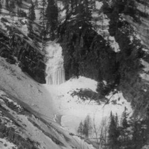 Pyhänkasteenlampi talvella 1967