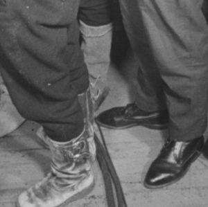 Metsureiden kenkiä vuonna 1964.