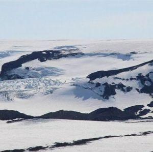 Vulkanen Bárdarbunga på Island.