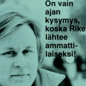 Lehtiotsikko Risto Siltasesta vuonna 1978.