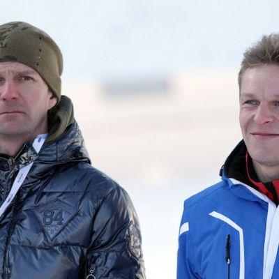 Janne Ahonen ja Toni Nieminen ovat tuoneet Suomelle mainetta ja kunniaa Keski-Euroopan mäkiviikolla.