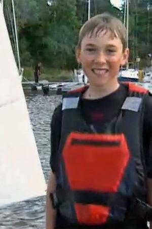 En ung seglare