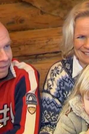 Thomas Johanson och familjen