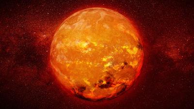 Solen i närbild