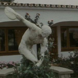 patsas Los pacosin lomakylässä Espanjassa.