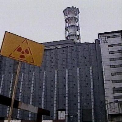Tjenobyls kärnkraftverk i Ukraina