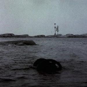 Laivanosia meressä Utön edustalla 1973