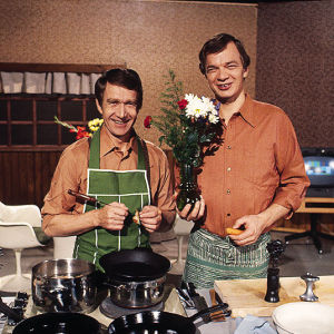 Veijo Vanamo ja Jaakko Kolmonen Patakakkonen -ohjelmassa.