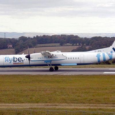 Flybe flyger bland annat med Dash 8-plan