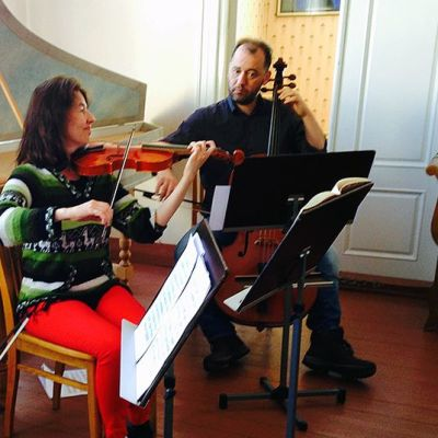 Barokkimusiikkia soittava orkesteri