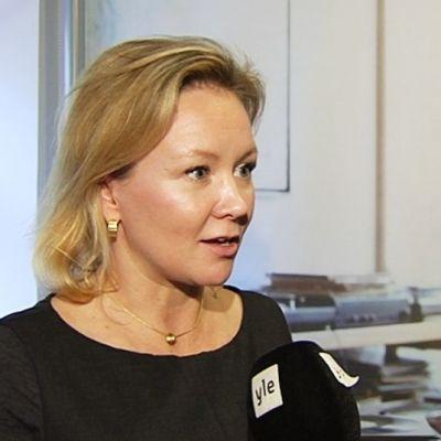 Suomen pääomasijoitusyhdistyksen toimitusjohtaja Marika af Enefhjelm.