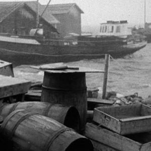 Vene saariston satamassa.