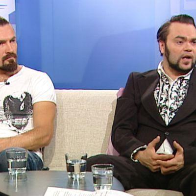 Tähtihetken vieraina ohjaaja Oskari Pastila ja Knucklebone Oscar alias Oskari Martimo.