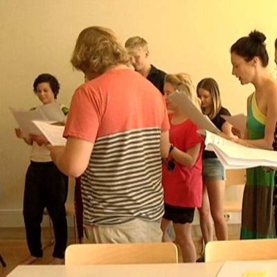 Fighting Star-musikaalin harjoitukset käynnistyivät Vaasassa