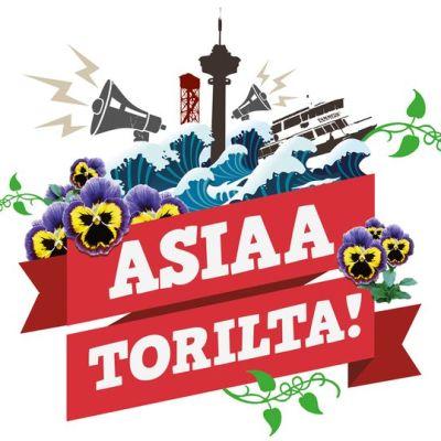 Asiaa torilta -logo
