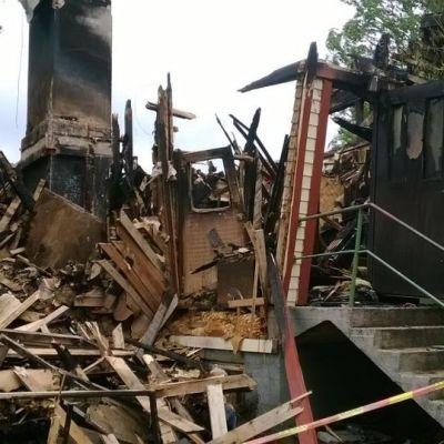 palaneen talon rauniot
