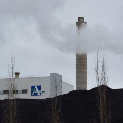 Kuvassa Alholmens Krahtin voimalaitos.
