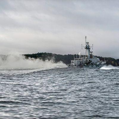 Etsinnät jatkuivat Tuholman saaristossa maanantaina.