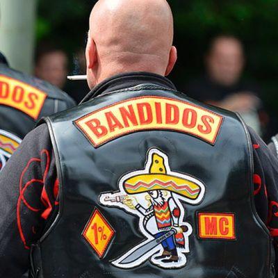 Bandidos-jengin jäseniä.