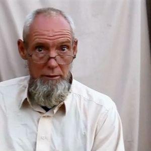 Sjaak Riijke, fritogs i Mali efter fyra år som gisslan.