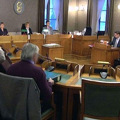 Wincapita-rättegång vid Vasa hovrätt.