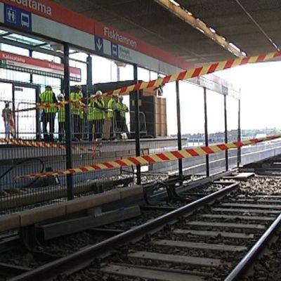 Fiskehamnens metrostation