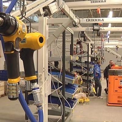 Agco Powers fabrik. Bild från 2013.