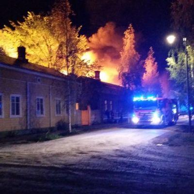 Brand i Nystad