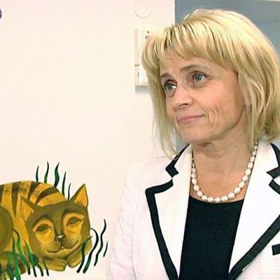 Inrikesminister Päivi Räsänen.