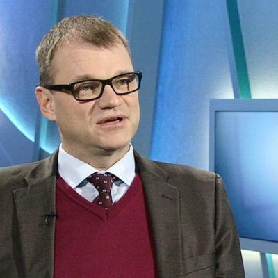 Centernpartiets ordförande Juha Sipilä.