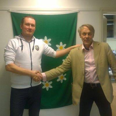 Peter Lindholm och Juhani Tihveräinen, Ekenäs Sport Club