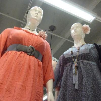 klädmodeller för större damer