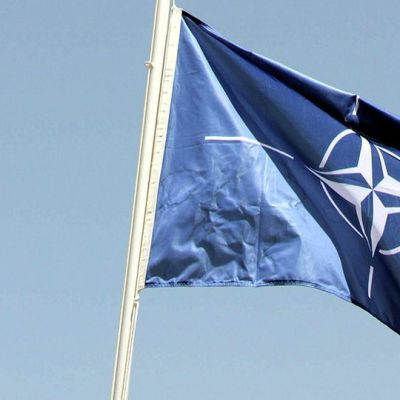 Natos flagga.