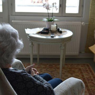 Äldre kvinna.