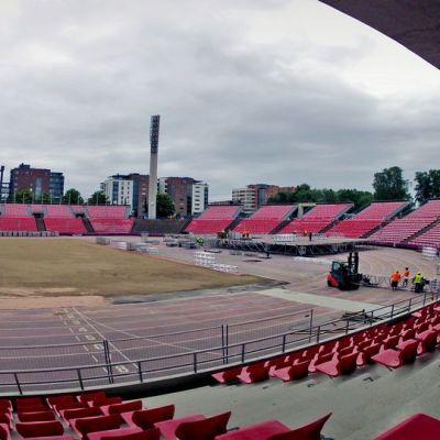 Ratina-stadion är en populär arena för konserter.