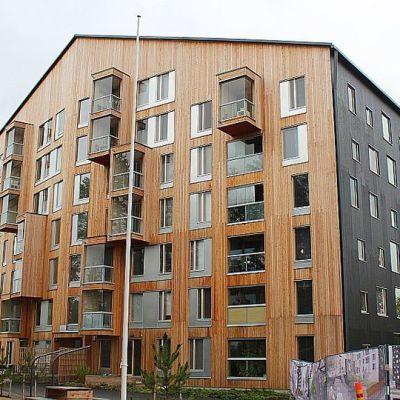 Trähus i Jyväskylä fick Arkitekturfinlandia