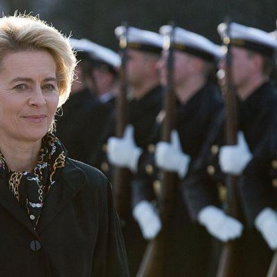 Tysklands försvarsminister Ursula von der Leyen.