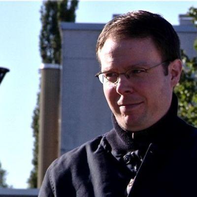 Sannfinländska riksdagsledamoten Vesa-Matti Saarakkala.