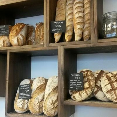 Bröd gjort på degrot.